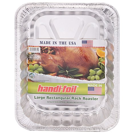 Handi-Foil Roaster Rack Rectangular Large - Each