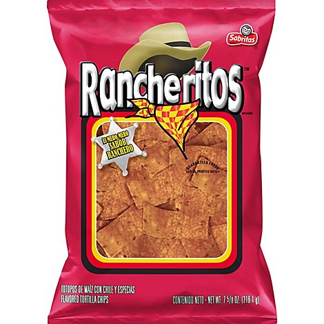 Sabritas Tortilla Chips Rancheritos - 7.625 Oz