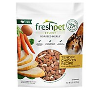 Freshpet Select Dog Food Roasted Meals Tender Chicken Recipe Pouch - 1.75 Lb