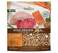 Freshpet Select Dog Food Roasted Meals Tender Chicken Recipe Pouch - 3 Lb