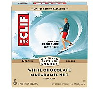 CLIF Energy Bar White Chocolate Macadamia Nut - 6-2.4 Oz