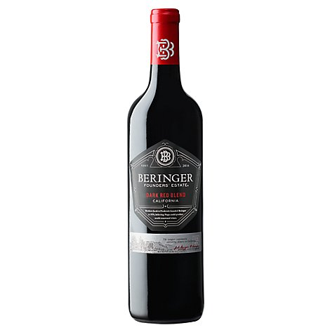 Beringer Founders Red Blend Wine - 750 Ml