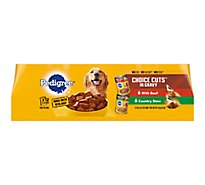 PEDIGREE Dog Food Choice Cuts In Gravy Variety Wrapped - 12-13.2 Oz