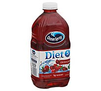 Ocean Spray Diet Juice Cran-Cherry - 64 Fl. Oz.