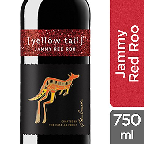 yellow tail Wine Red Sweet Roo - 750 Ml