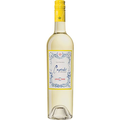 Cupcake Vineyards Wine White Angel Food - 750 Ml