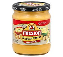 Mission Flavored Dip Cheddar Cheese - 15.5 Oz