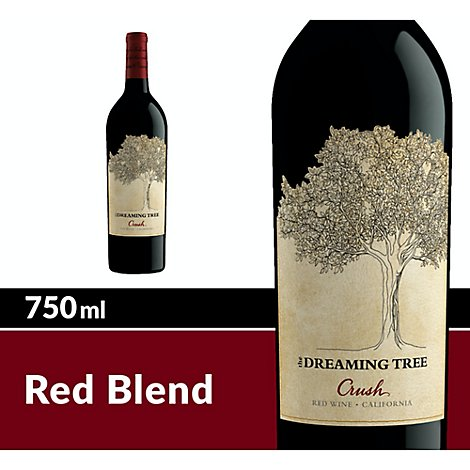 The Dreaming Tree Wine Red Blend Crush - 750 Ml