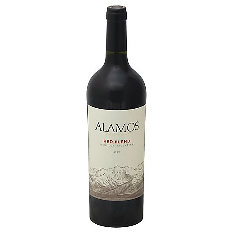 Alamos Argentinian Red Blend Red Wine - 750 Ml