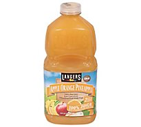Langers Juice Gold Medal Pure Apple Orange Pineapple - 64 Fl. Oz.