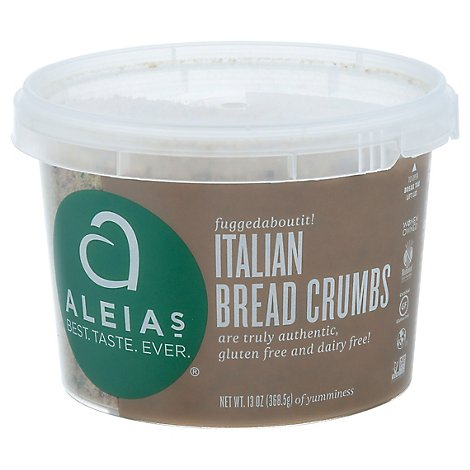 Aleias Bread Crumbs Italian - 13 Oz