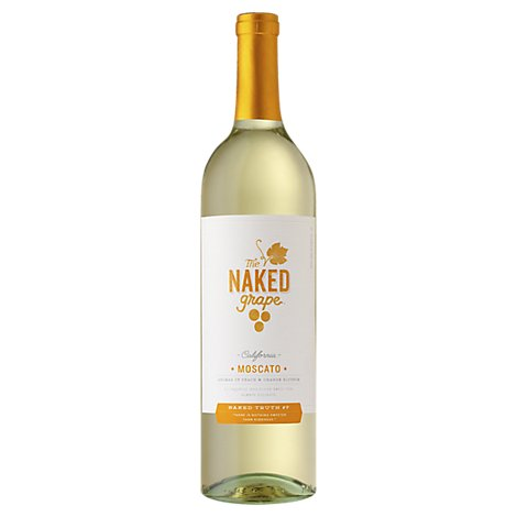 The Naked Grape Moscato White Wine - 750 Ml