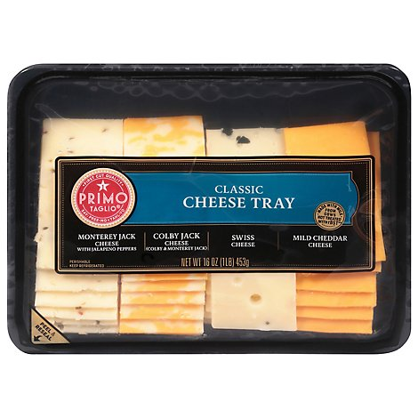 Primo Taglio Cheese Party Tray Variety - 16 Oz