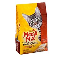 Meow Mix Tender Centers Cat Food Dry Salmon & White Meat Chicken - 3 LB