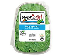 organicgirl Organic Baby Spinach Washed - 5 Oz