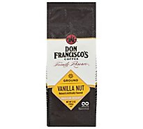 Don Franciscos Coffee Family Reserve Coffee Ground Medium Roast Vanilla Nut - 12 Oz