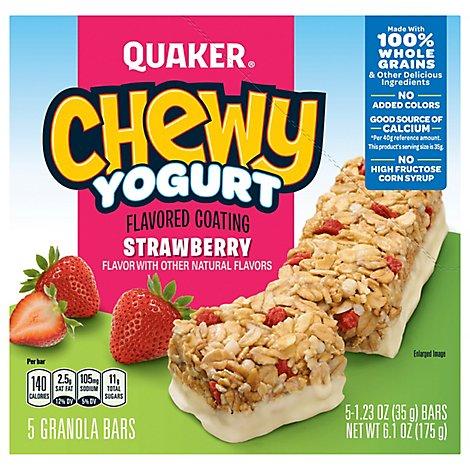 Quaker Chewy Yogurt Granola Ba - Online