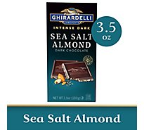 Ghirardelli Chocolate Intense Dark Sea Salt Soiree - 3.5 Oz