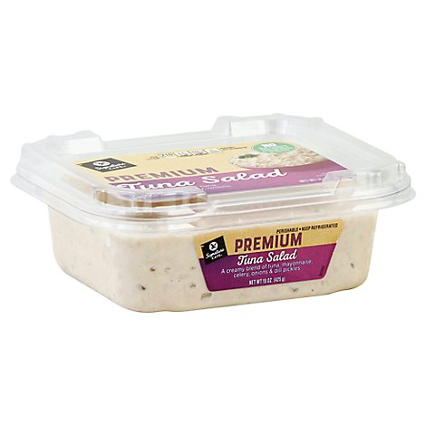 Signature Cafe Premium Tuna Salad - 0.50 Lb.