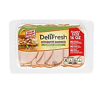 Oscar Mayer Deli Fresh Mesquite Turkey Breast Family Size - 16 Oz.