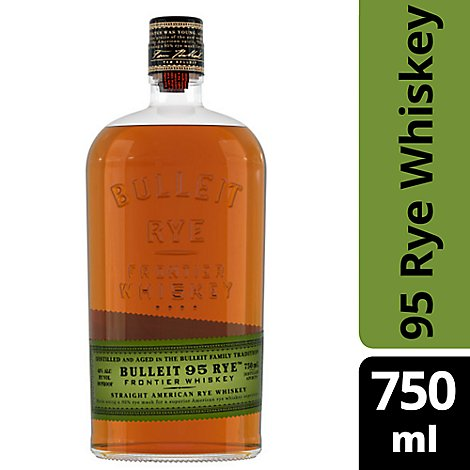 Bulleit Rye Bourbon 90 Proof - 750 Ml