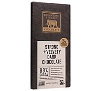 Endangered Species Chocolate Bar Dark Chocolate Panther 88% Cocoa - 3 Oz