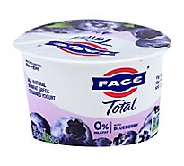 Fage Total 0% Yogurt Greek Nonfat Strained with Blueberry - 5.3 Oz