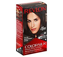 Revlon Colorsilk Beautiful Color 3d Color Technology Brown Black - Each