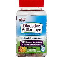 Digestive Advantage Dietary Supplement Probiotic Gummies - 60 Count