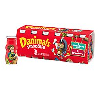 Danimals Smoothie Strawberry Explosion And Strikin Strawberry Kiwi - 12-3.1 Fl. Oz.