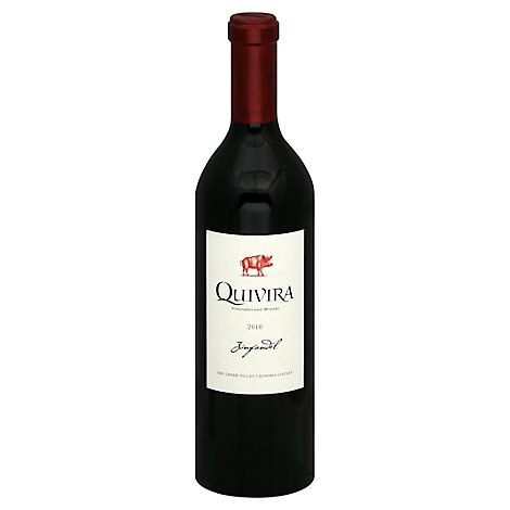 Quivira Zinfandel Dry Creek Wine - 750 Ml