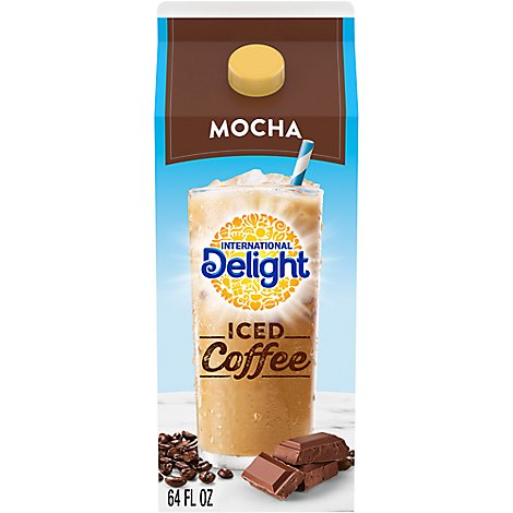 International Delight Coffee Iced Mocha - 0.5 Gallon