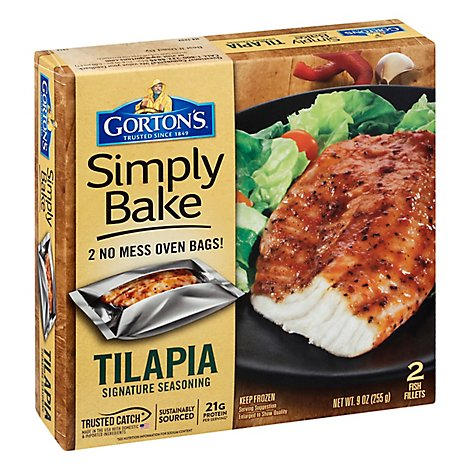 Gortons Simply Bake Tilapia Signature Seasoning - 9 Oz