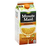 Minute Maid Juice Orange Original Carton - 59 Fl. Oz.