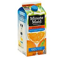 Minute Maid Juice Premium Orange Original Calcium & Vitamin D Cartons - 59 Fl. Oz.