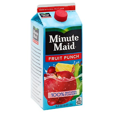 Minute Maid Premium Fruit Punch - 59 Fl. Oz.