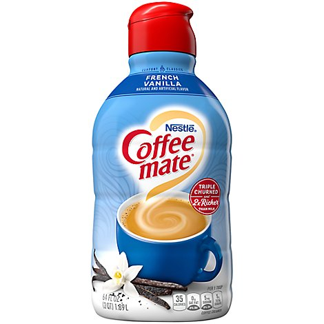 Coffeemate Coffee Creamer French Vanilla - 64 Fl. Oz.
