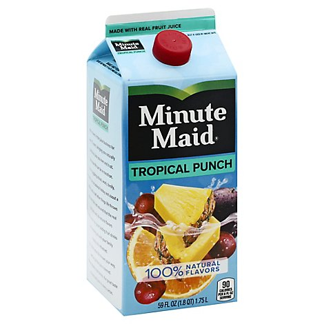 Minute Maid Juice Tropical Punch Carton - 59 Fl. Oz.