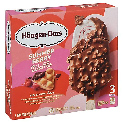 Haagen-Dazs Ice Cream Bars Salted Caramel - 3-3 Fl. Oz.