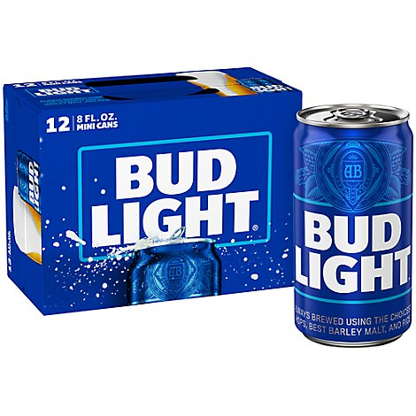 Bud Light Azulitas Cans - 12-8 Fl. Oz.