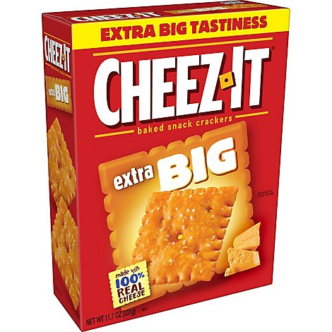 Cheez-It Crackers Baked Snack Big - 11.7 Oz