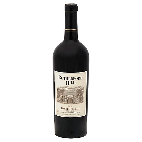 Rutherford Hill Napa Valley Barrel Select Red Blend Wine - 750 Ml