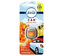 Febreze CAR Air Freshener Vent Clip Hawaiian Aloha - 0.06 Fl. Oz.