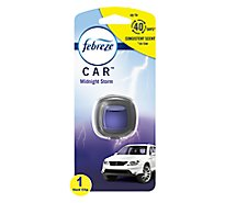 Febreze CAR Air Freshener Vent Clip Midnight Storm - 0.06 Fl. Oz.