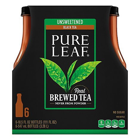 Pure Leaf Black Tea Unsweetened - 6-18.5 Fl. Oz.