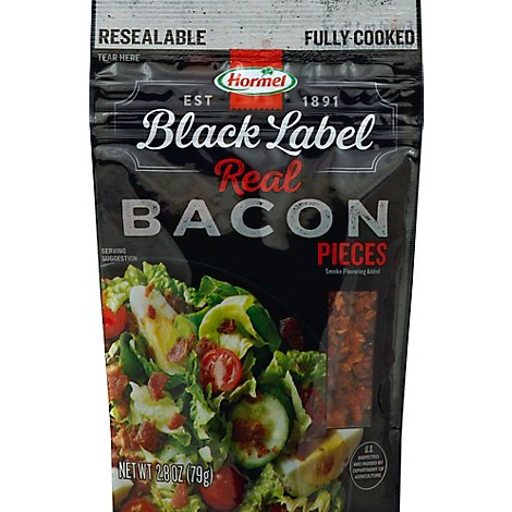 Hormel Black Label Bacon Pieces - 2.8 Oz