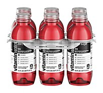 vitaminwater Zero Water Beverage Nutrient Enhanced Acai Blueberry Pomegranate - 6-16.9 Fl. Oz.