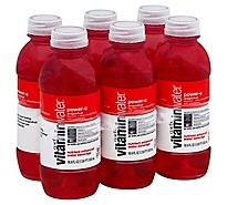 vitaminwater Water Beverage Nutrient Enhanced Power C Dragonfruit - 6-16.9 Fl. Oz.