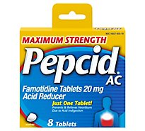 Pepcid AC Maximum Strength Tablets - 8 Count