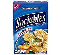 Sociables Crackers Baked Savory - 7.5 Oz